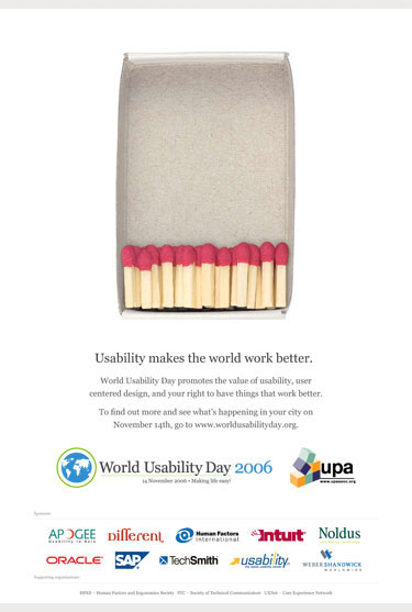 World Usability Day 2006