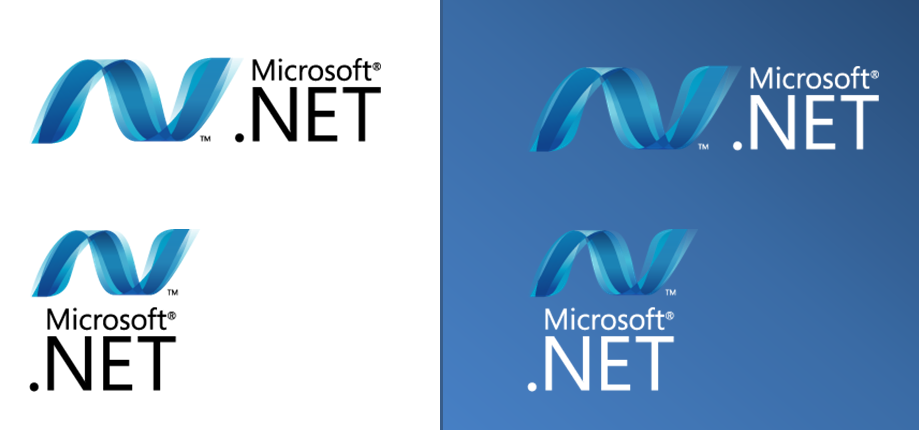 New .NET logos